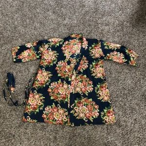 Tops - Boutique Floral Kimono or Wrap Dress